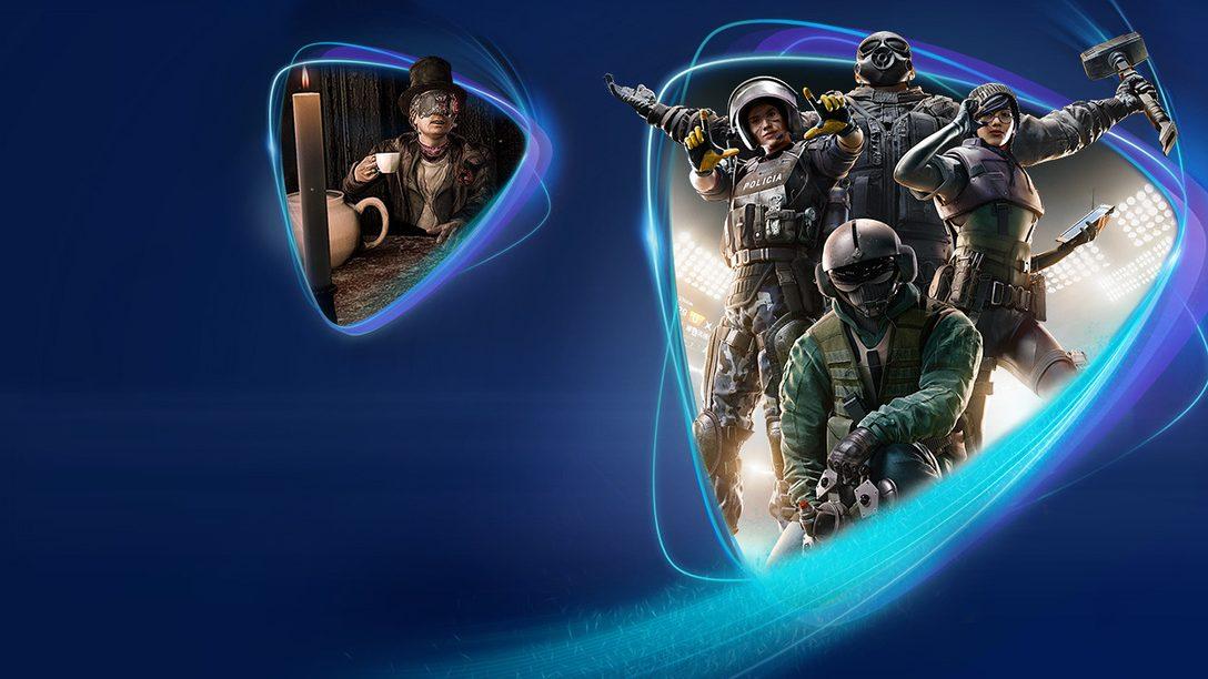 Tom Clancy's Rainbow Six Siege, The Evil Within 2 e Get Even arrivano su PS Now a maggio