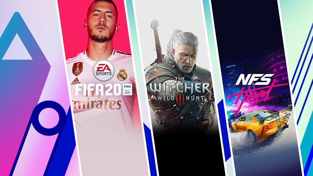 FIFA 20 Champions Edition, The Witcher 3: Wild Hunt GOTY Edition e altri titoli entrano a far parte della promozione Extended Play di PS Store