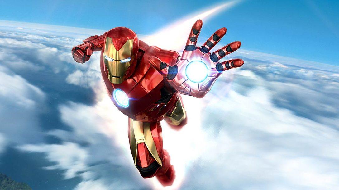 Indossate l'armatura dell'Avenger corazzato con la confezione PlayStation Move di Marvel's Iron Man VR. Demo disponibile da oggi!