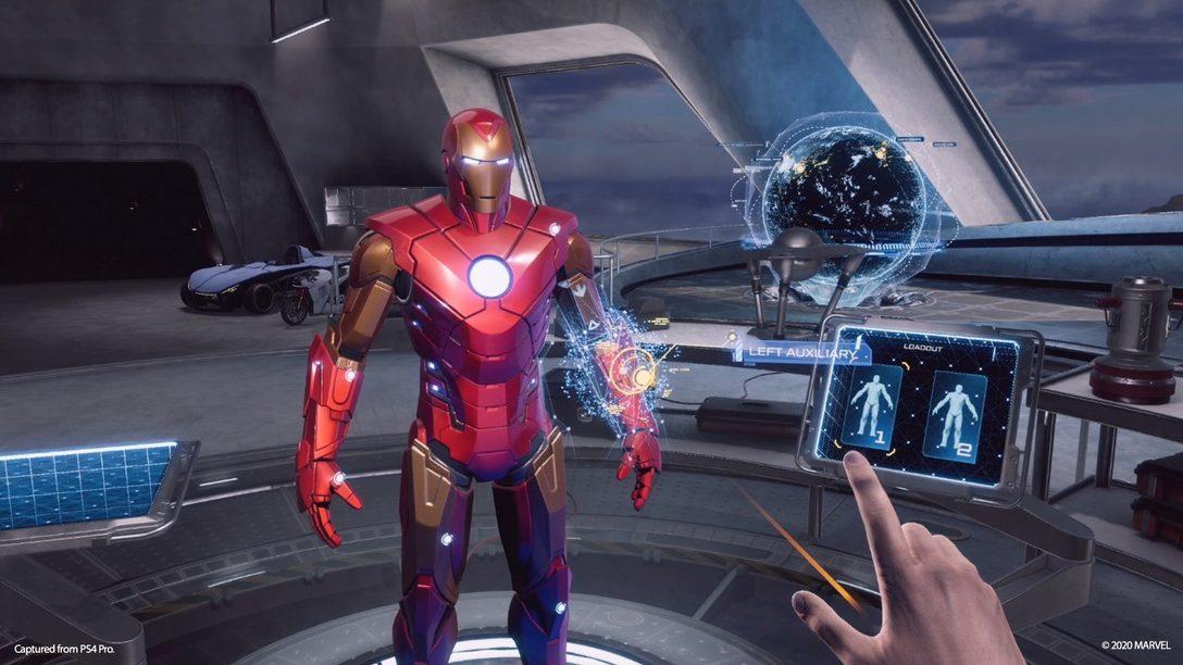 Dietro le quinte: modificare l'armatura a impulsi nel garage di Tony in Marvel's Iron Man VR