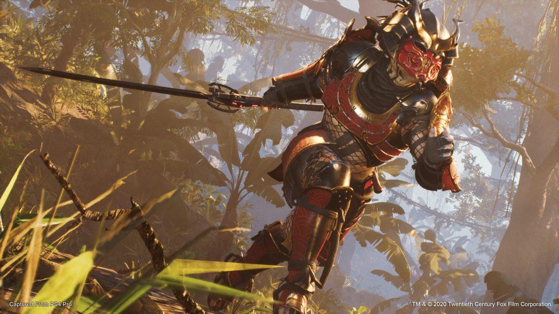Il Predator Samurai fa il suo ingresso in Predator: Hunting Grounds