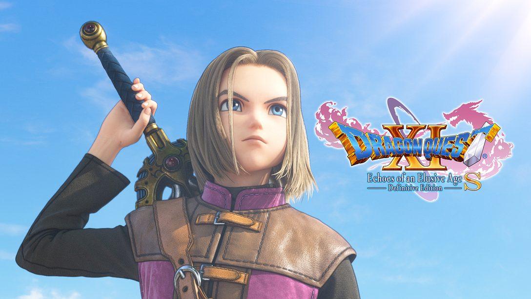 Dragon Quest XI S: Echi di un'era perduta – Edizione annunciata per PS4
