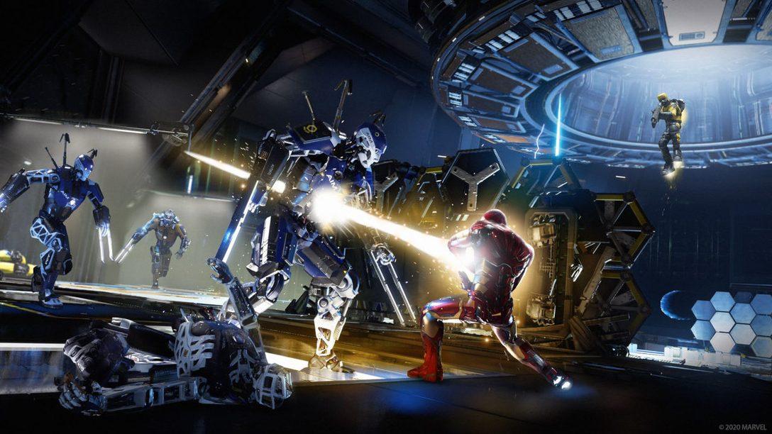 Collabora con stile nelle sfide della community e per ottenere gli elementi estetici per Marvel's Avengers