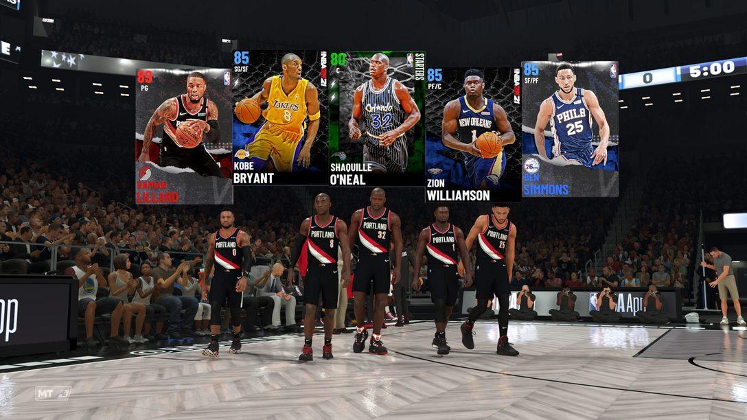 Una nuovissima esperienza MyTeam in NBA 2K21