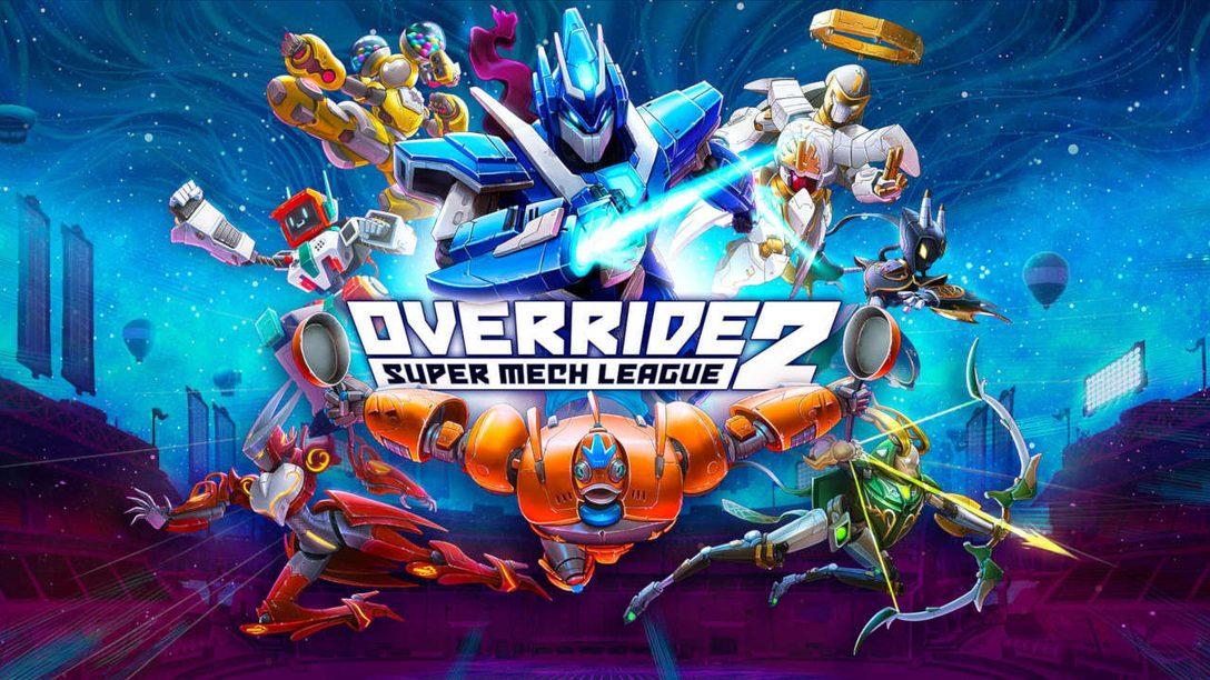 Override 2: Super Mech League è stato annunciato su PlayStation 5 e PlayStation 4