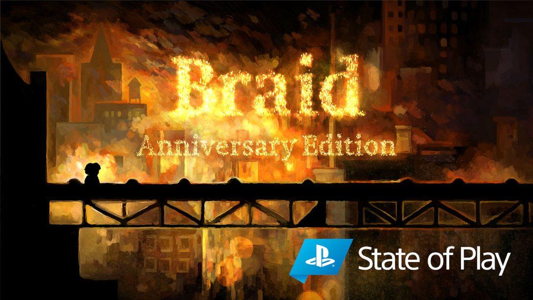 Vi presentiamo Braid, Anniversary Edition per PS4 e PS5.