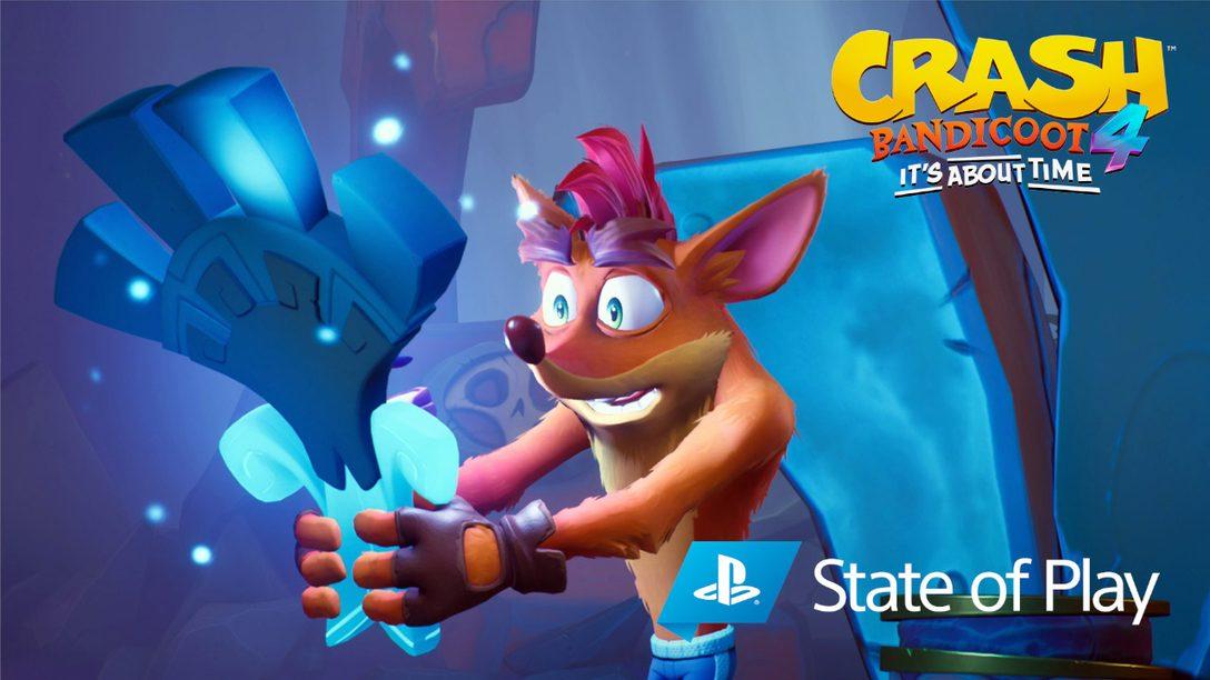 Svelate la nuova modalità N. Verted, i personaggi giocabili e molto altro, in Crash Bandicoot 4: It's About Time