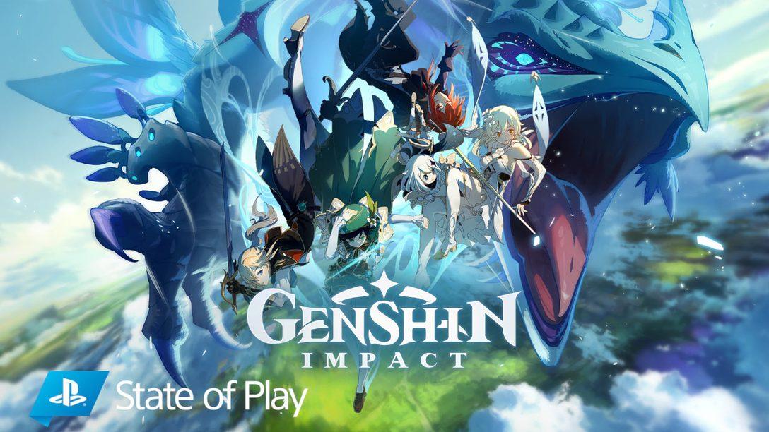 Genshin Impact è in arrivo questo autunno su PS4