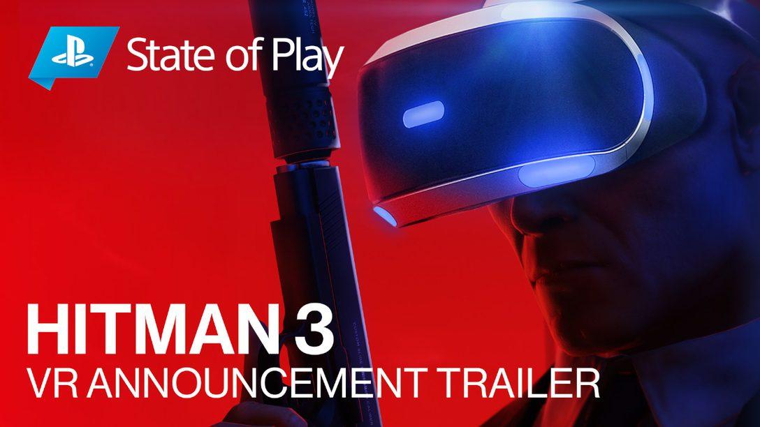 HITMAN 3 includerà il supporto alla realtà virtuale all'uscita ufficiale, prevista per gennaio 2021