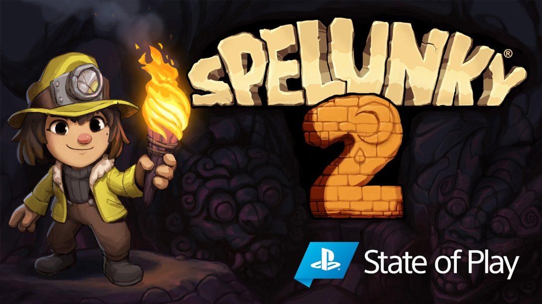 Spelunky 2 arriva su PS4 il 15 settembre