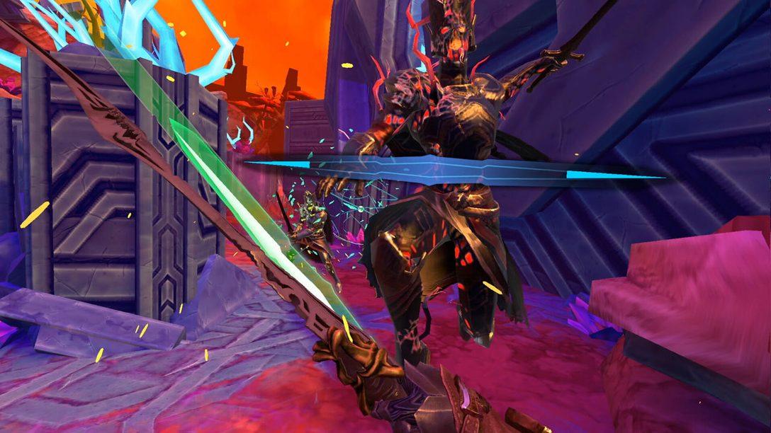 Diventa un Dio della spada in Until You Fall su PSVR