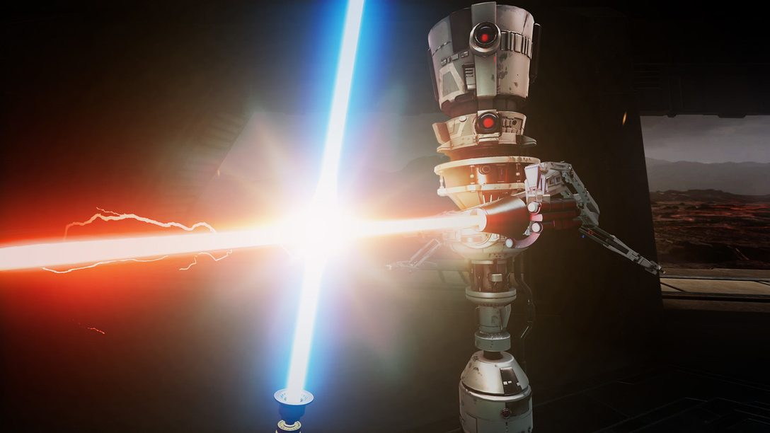 7 consigli per affrontare il Lightsaber Dojo di Vader Immortal, disponibile per PS VR