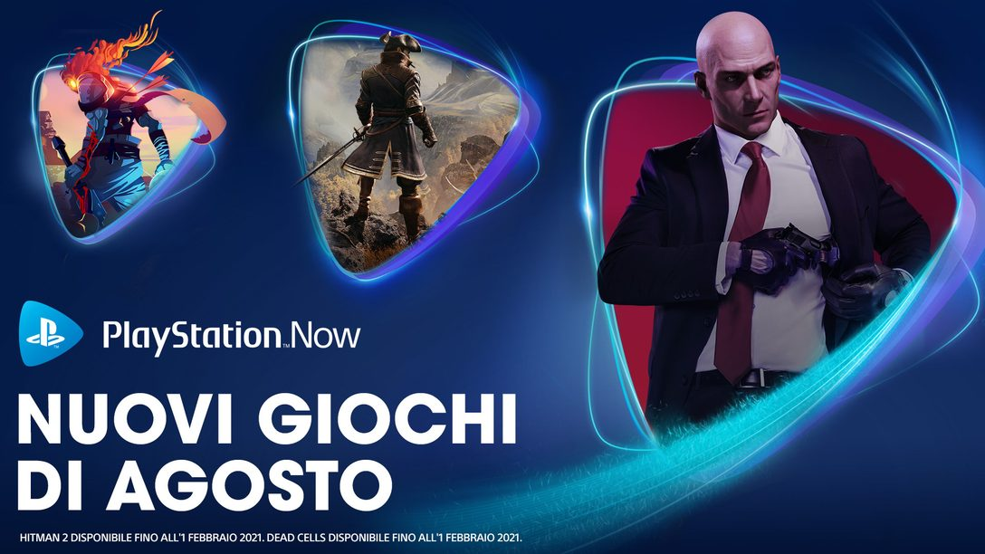 Hitman 2, Greedfall e Dead Cells si uniscono a PS Now ad agosto