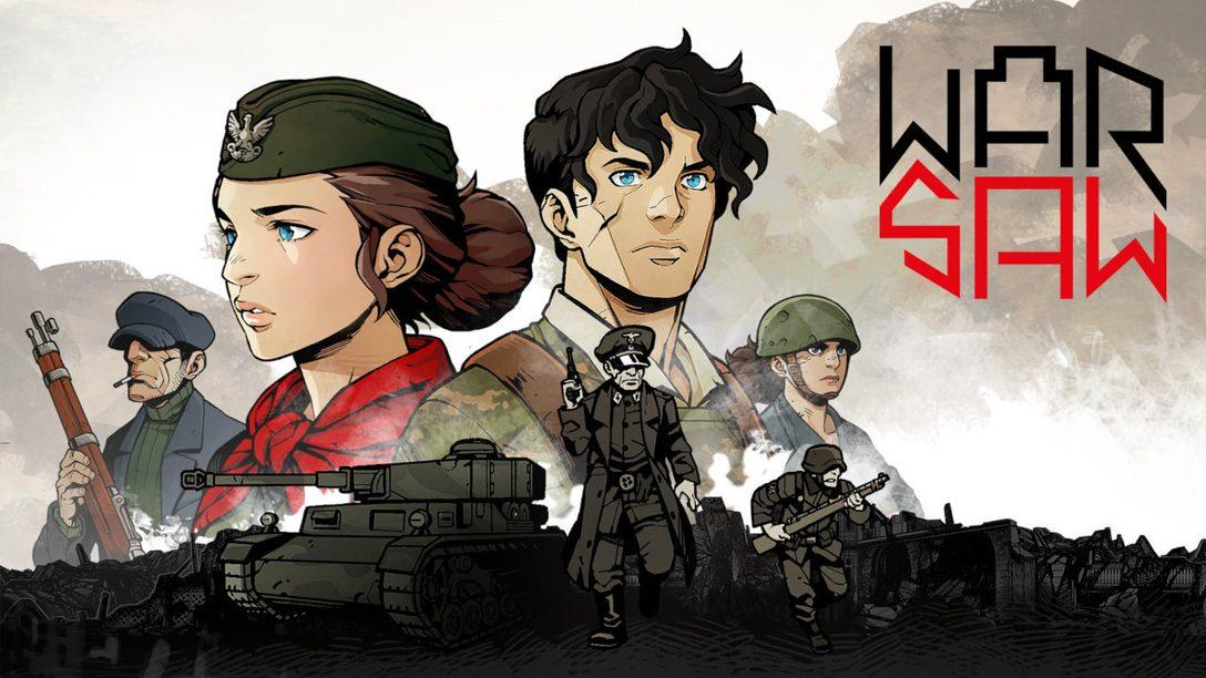 Guidate le vostre truppe attraverso l'inferno in WARSAW – un impegnativo GDR a turni in arrivo il 29 settembre per PS4