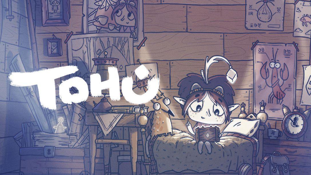 Venite a scoprire Tohu, il nuovo incredibile gioco di avventura in arrivo su PS4 entro la fine dell'anno