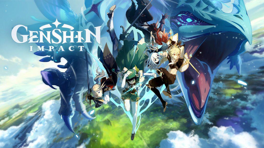 Il viaggio in Genshin Impact inizia oggi