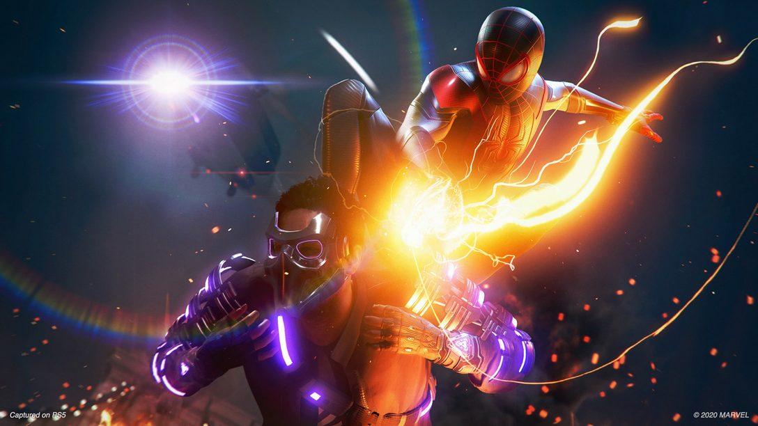 Non perdetevi il nuovo filmato di gioco di Mar-vel's Spider-Man: Miles Morales
