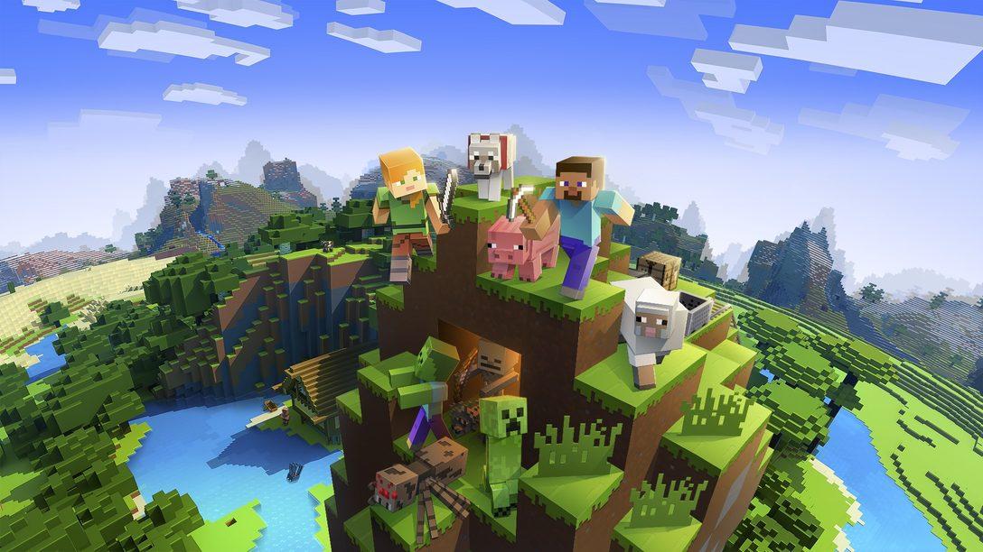 Minecraft questo mese aggiunge il supporto per PS VR