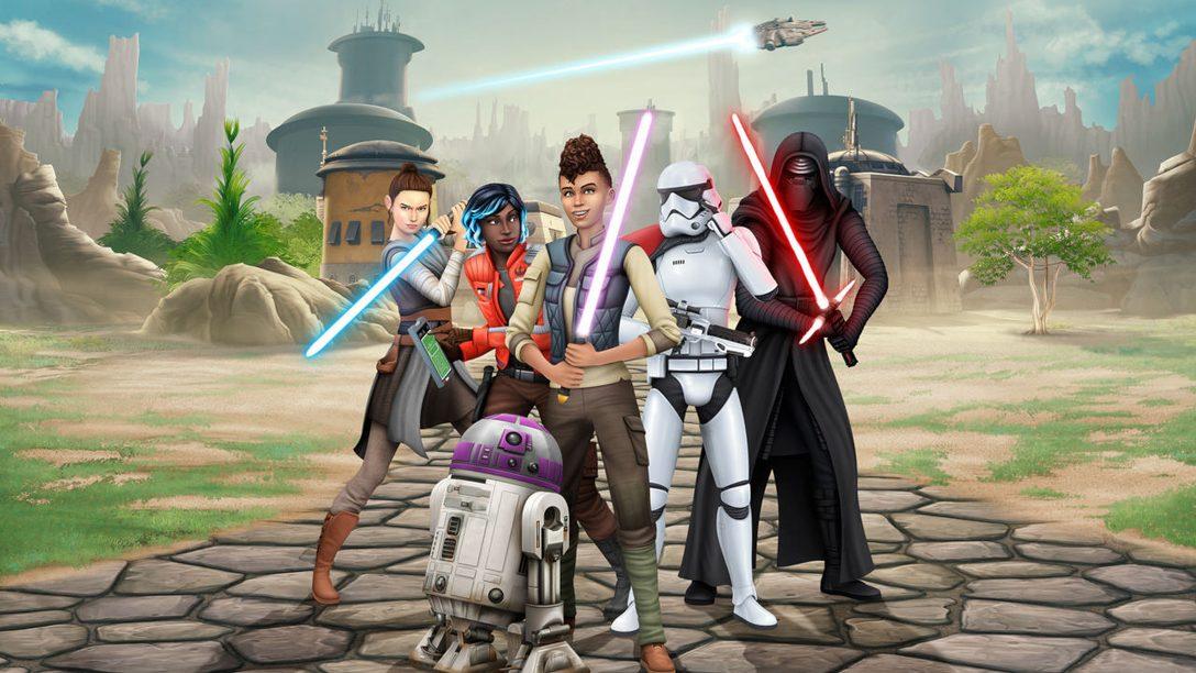 Dai vita ai tuoi sogni a tema Star Wars in The Sims 4 Star Wars: Viaggio a Batuu
