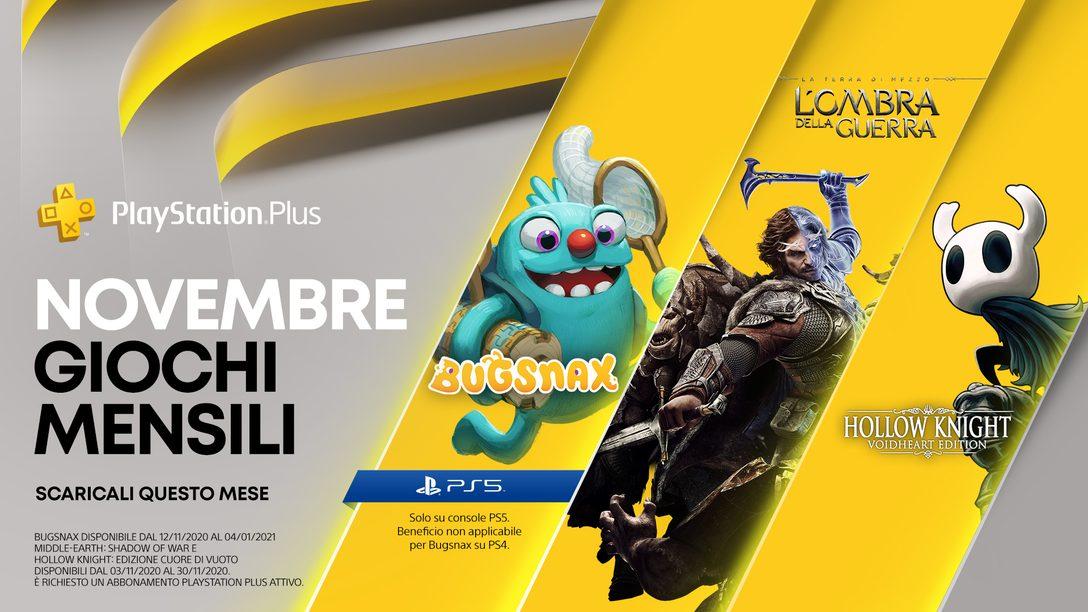 Dettagli sulla PlayStation Plus Collection+ i giochi PlayStation Plus di novembre