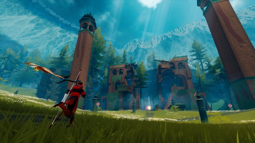 Il vasto e misterioso mondo di The Pathless, in arrivo su PlayStation 5 il 12 novembre