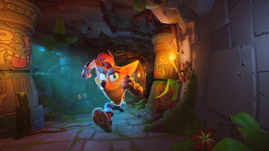 Crash Bandicoot™ 4: It's About Time turbina su PS4 il 2 ottobre