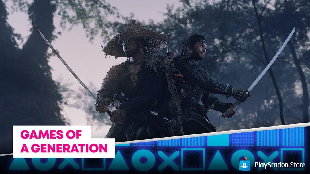 La promozione I giochi di una generazione arriva su PlayStation Store