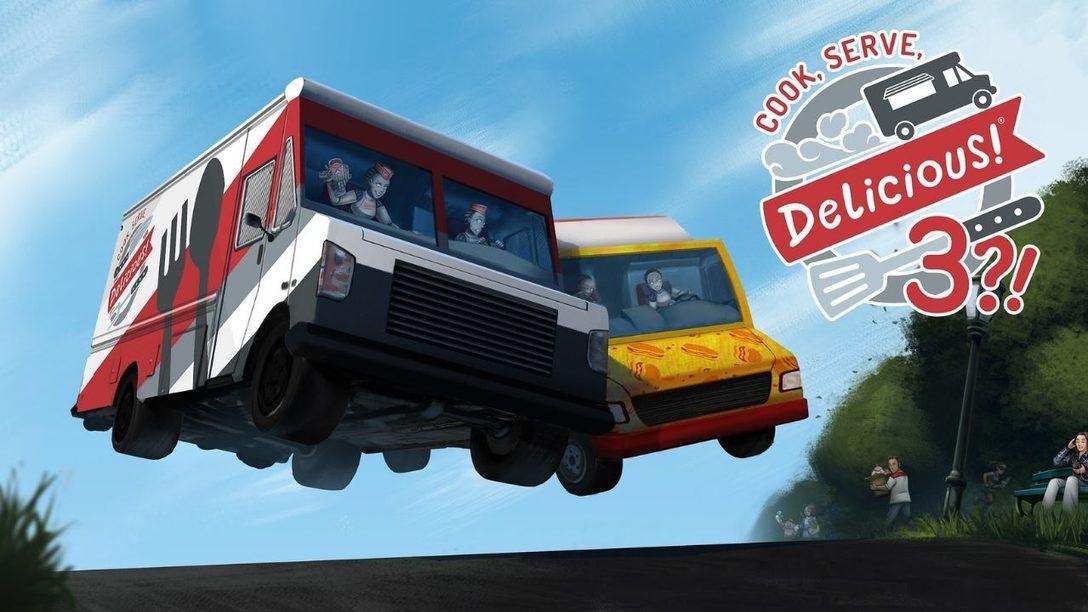 Cook, Serve, Delicious! 3?! in arrivo su PS4 il 14 ottobre