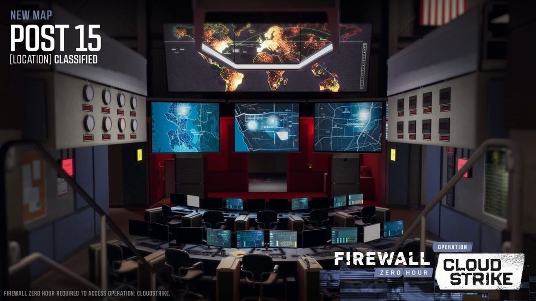 Firewall Zero Hour compie 2 anni e festeggia una nuova stagione con Operation: Cloudstrike