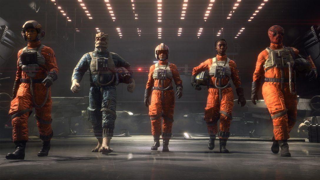 Cinque suggerimenti per prepararti al decollo in Star Wars: Squadrons