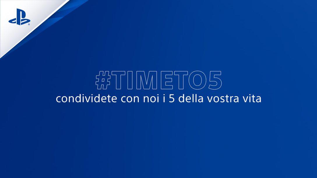 #TimeTo5 Condividete con noi gli scatti dei 5 che incontrate ogni giorno nella vostra vita