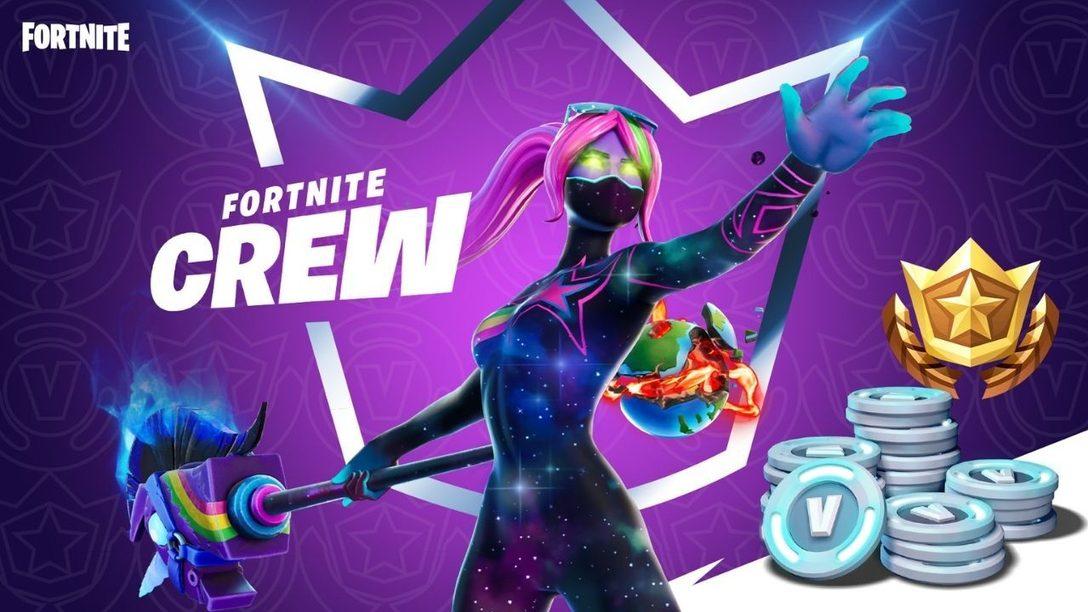 Epic Games annuncia il nuovo abbonamento mensile di Fortnite: Fortnite Crew