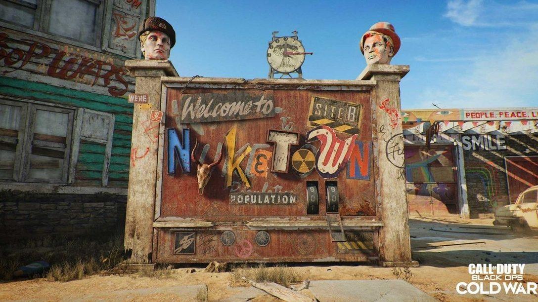 Nuketown '84: l'iconica mappa reinventata per Black Ops Cold War.