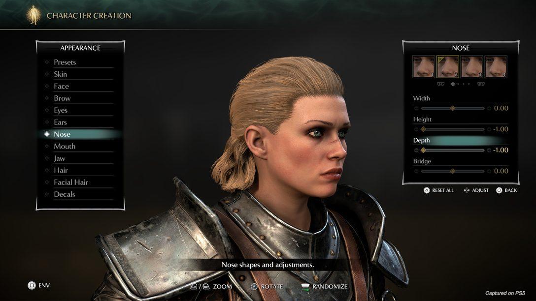 Un primo sguardo alla creazione dei personaggi e alla modalità foto di Demon's Souls