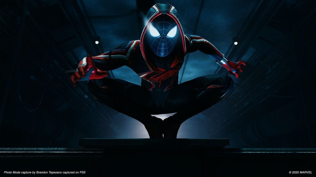Trailer della modalità foto di Marvel's Spider-Man: Miles Morales e suggerimenti degli sviluppatori