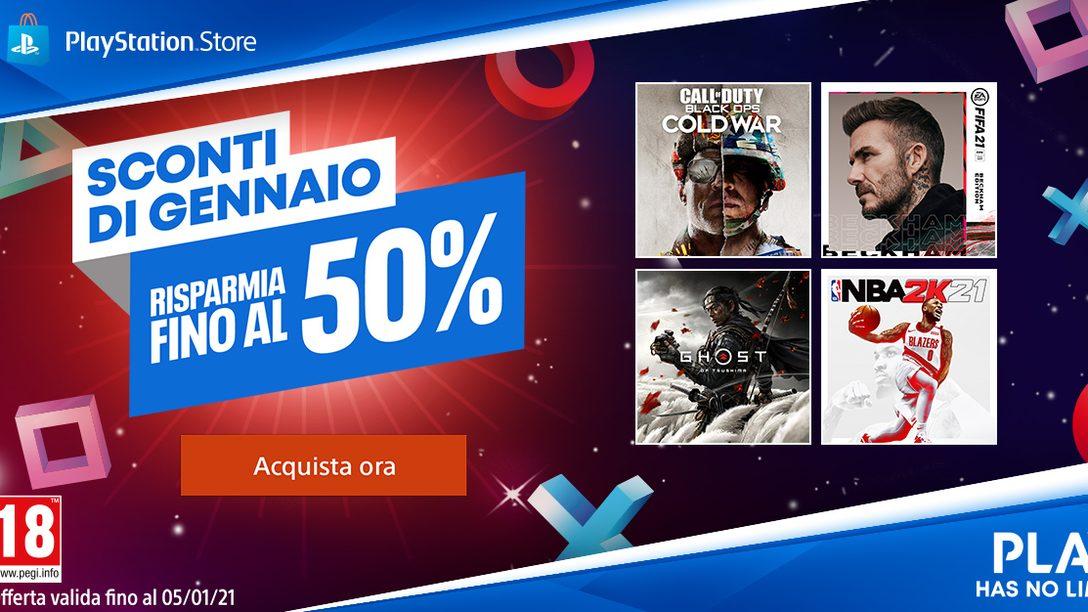 Gli Sconti di gennaio di PlayStation Store sono iniziati oggi