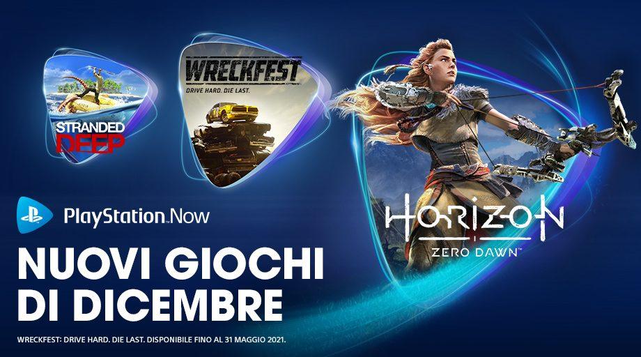 Horizon Zero Dawn, Stranded Deep e Broforce sono i giochi PS Now di dicembre