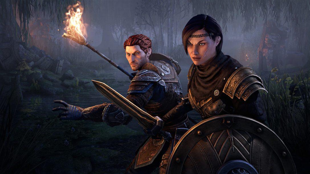 Tuffati in Gates of Oblivion: la nuova saga di un anno di The Elder Scrolls Online