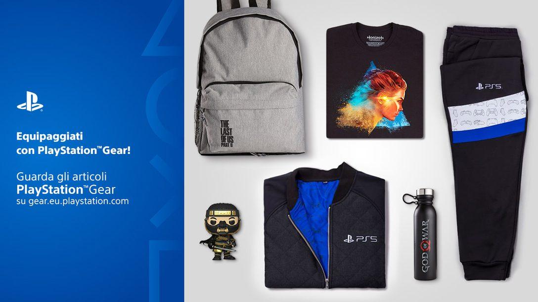 Lo Store PlayStation Gear arriva in nuovi paesi; annunciato il nuovo merchandising di Horizon Raw Materials