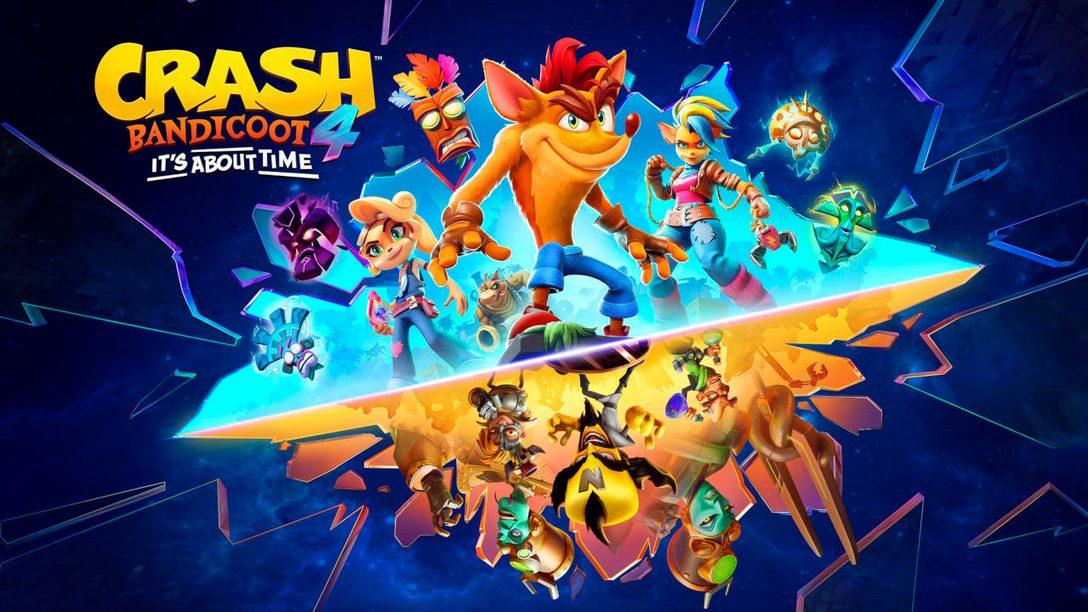 Crash Bandicoot 4: It's About Time arriva su PS5 il 12 marzo