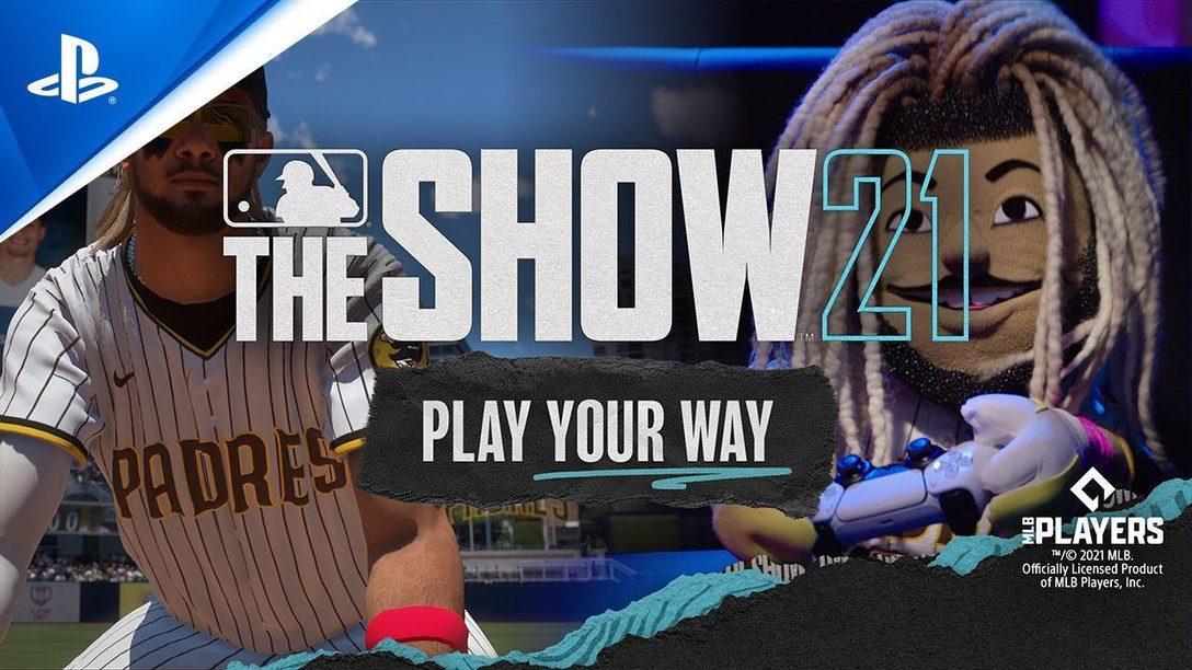MLB The Show 21 presenta Stunt on Your Rivals con il Coach e Fernando Tatis Jr (in forma di burattino)