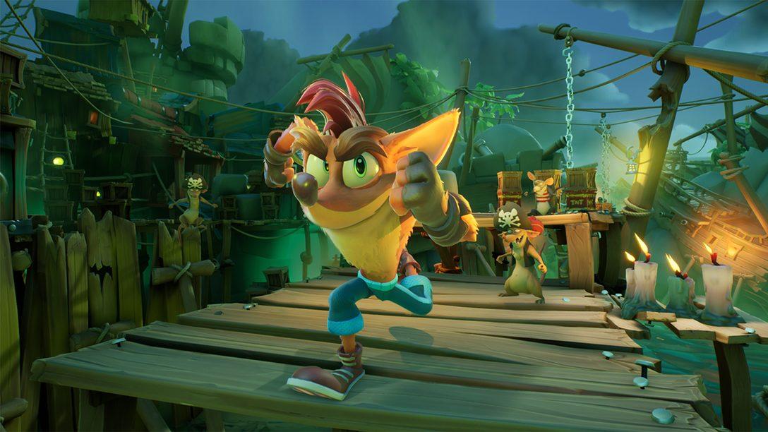 Date un'occhiata ai miglioramenti PS5 in azione con un nuovo approfondimento di Crash Bandicoot 4: It's About Time