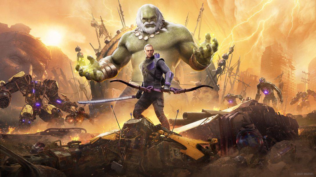 Hawkeye in arrivo su Marvel's Avengers il 18 marzo