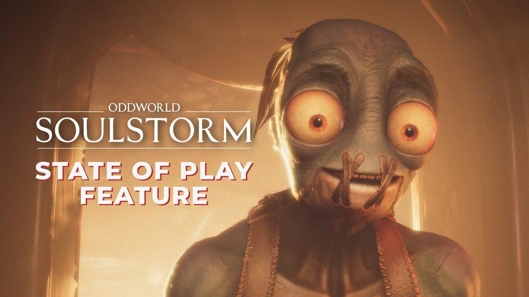 Oddworld: Soulstorm arriva su PS4 e PS5 il 6 aprile