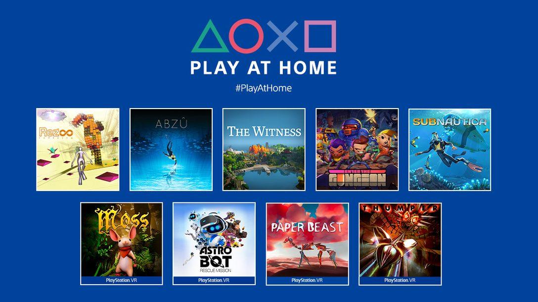 Aggiornamento Play at Home 2021: 10 titoli gratuiti da scaricare questa primavera