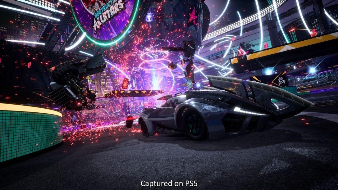 Intervista Destruction AllStars: i segreti della tecnologia PS5 che hanno dato vita a questo gioco di lotta su quattro ruote