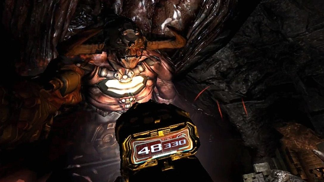 Coinvolgimento senza pari: Come l'esperienza di combattimento di Doom 3 è stata rifinita per PS VR.