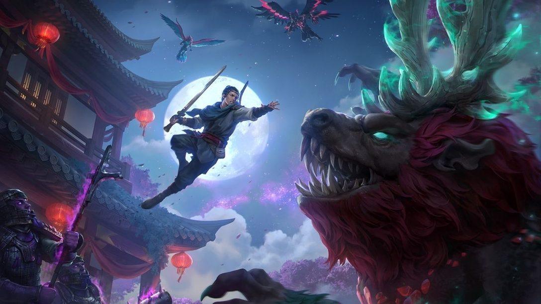 Immortals Fenyx Rising: Miti del Regno d'Oriente arriva oggi su PS4 e PS5