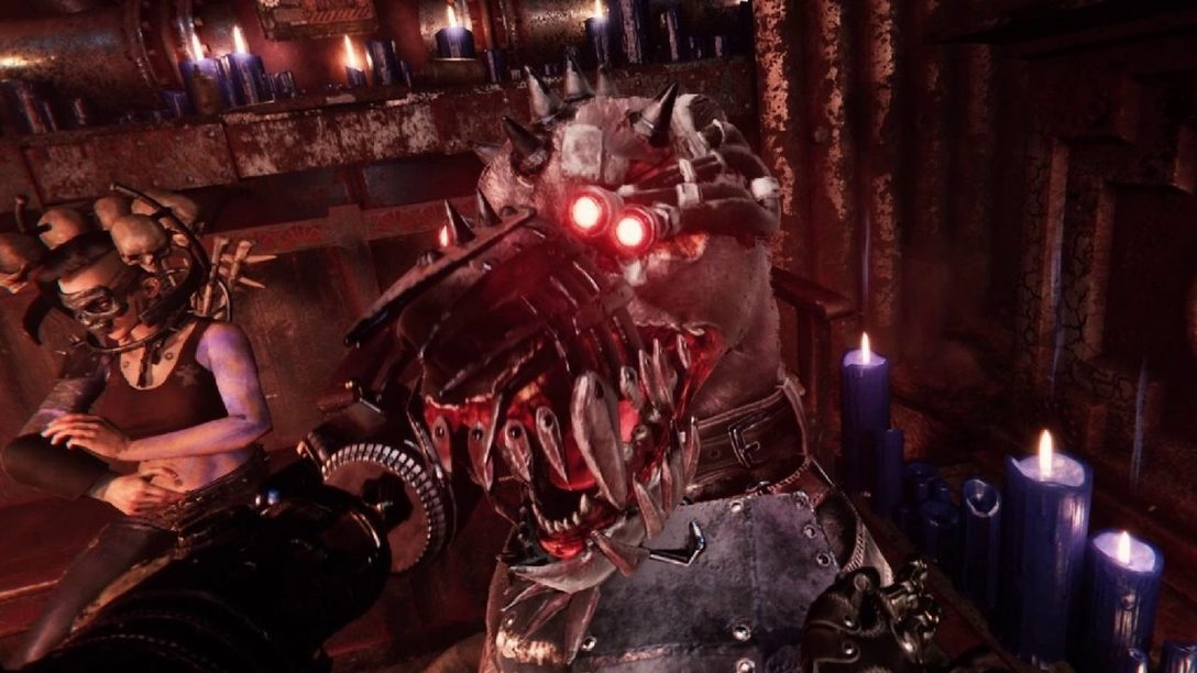 Necromunda: Hired Gun – L'agilità e un fedele cyber-mastino ti danno il vantaggio in questo sparatutto fantascientifico.