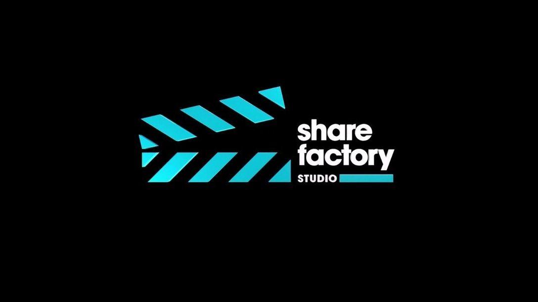 È ora disponibile l'ultimo aggiornamento per Share Factory Studio su PS5